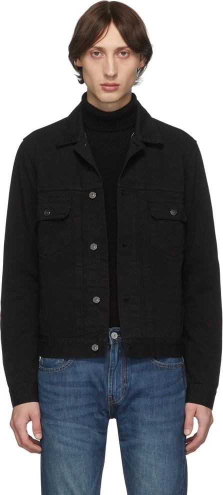 Eidos Black Denim Jacket