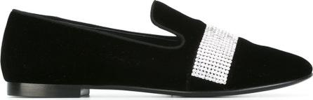 Giuseppe Zanotti crystal embellished slippers