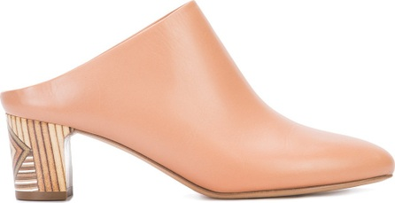Gabriela Hearst wooden heel mules