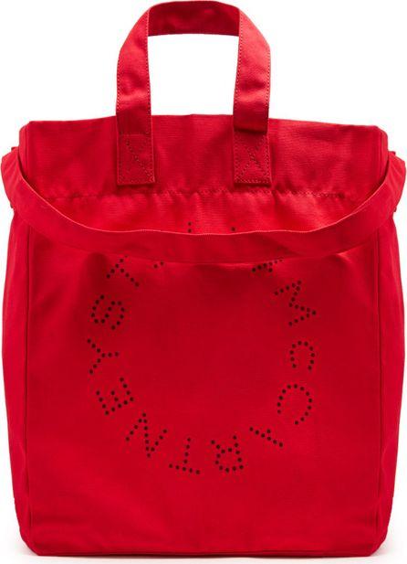 Stella McCartney Cotton-canvas beach bag