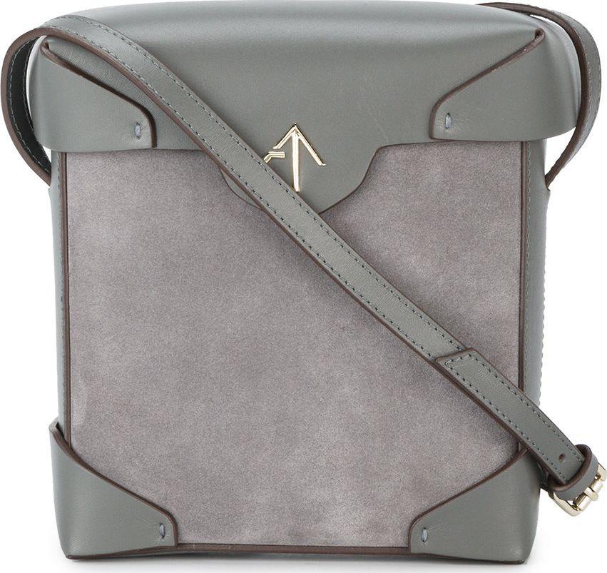Manu Atelier - grey mini Pristine cross-body bag