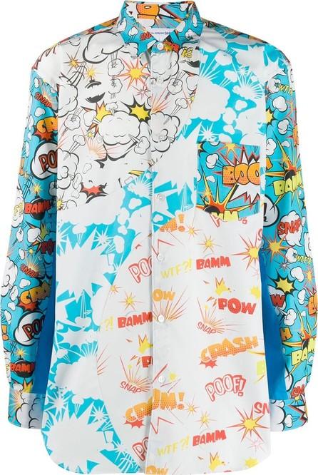 Comme Des Garcons Boom print shirt