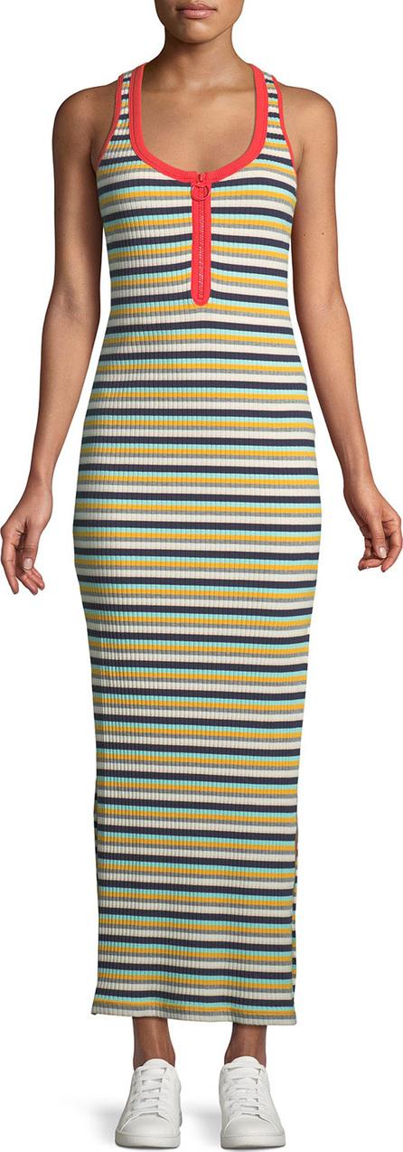 9a8dbef6625 ... Arco Iris Striped Shirting Tiered Maxi Dress Share Copied link. Splendid  Banda Striped Sleeveless Maxi Dress