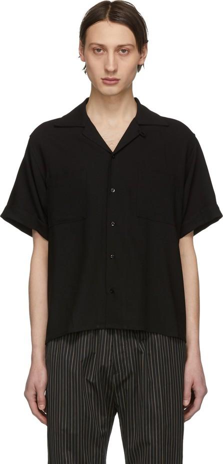 Enfants Riches Deprimes Black Wool Button Down Shirt