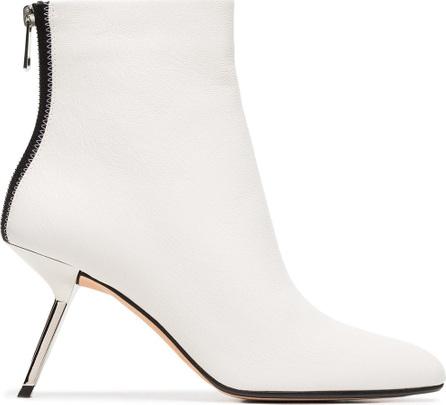 Alchimia Di Ballin White Ballin Narcis 80 leather ankle boots