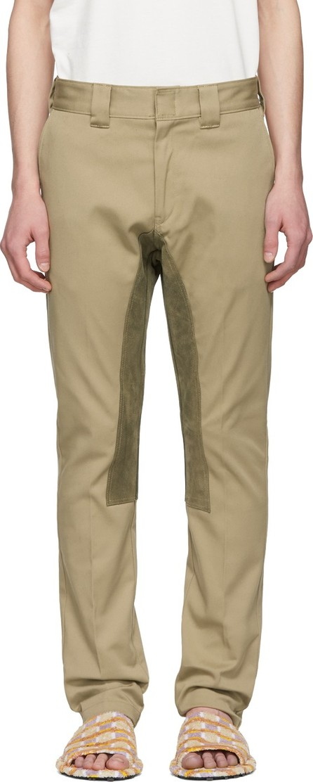FACETASM Beige Inner Patch Trousers