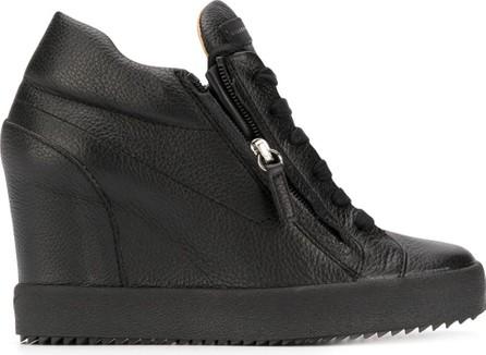 Giuseppe Zanotti High wedge heel sneakers
