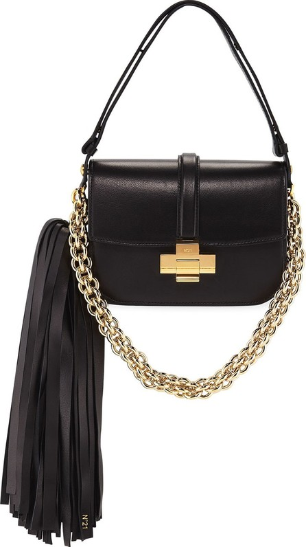 Nº21 Pompom Chain Shoulder Bag