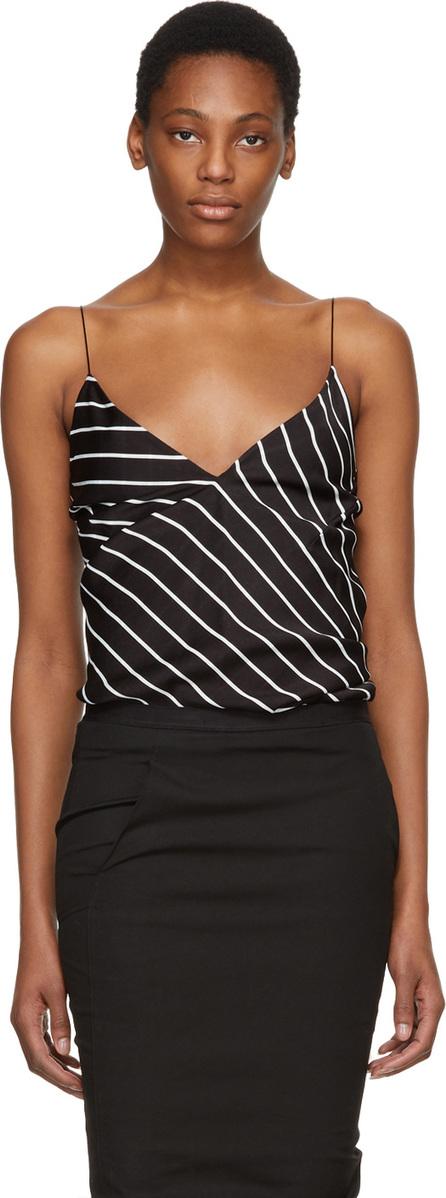 Haider Ackermann Black & White Striped Camisole