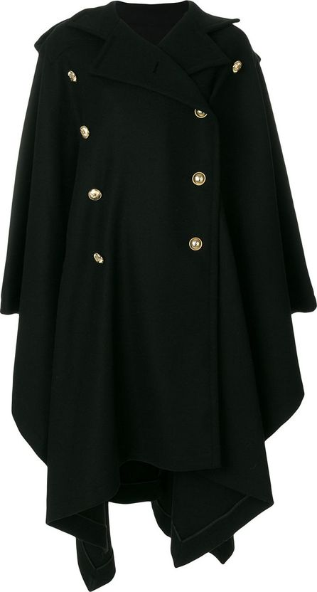 Alexandre Vauthier double breasted cape coat