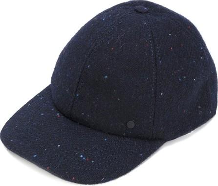 Maison Michel speckled curved peak felt cap
