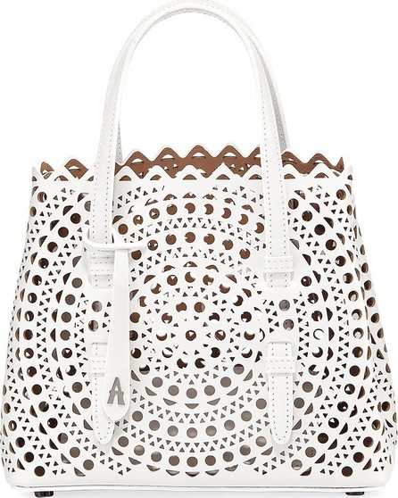 Alaïa Mina Mini Vienne Laser-Cut Tote Bag