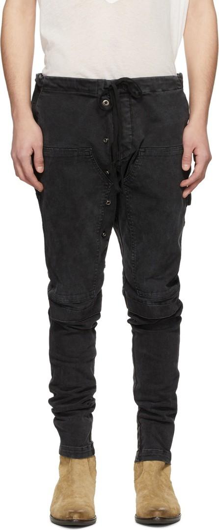 Greg Lauren Black Work Cargo Pants