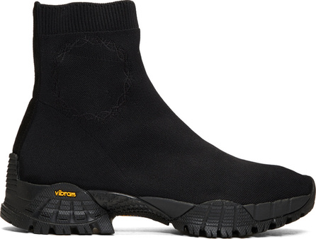 Alyx Black Knit Hiking Sneakers