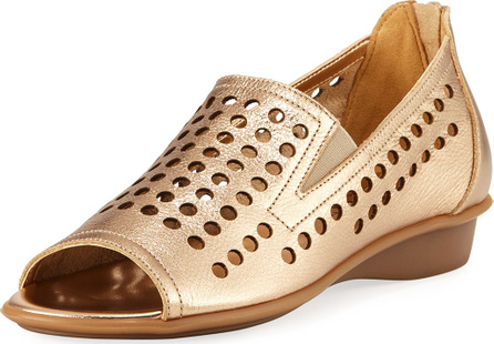 Sesto Meucci Ellen Perforated Comfort Slip-On Flat