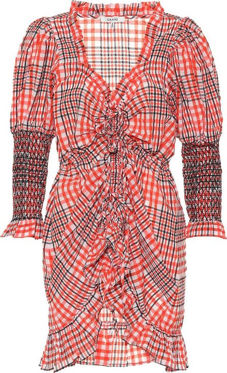 Ganni Checked minidress