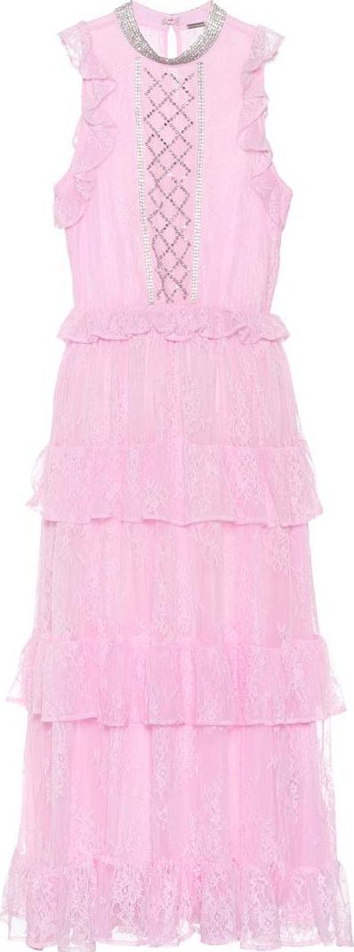 DODO BAR OR Embellished lace dress