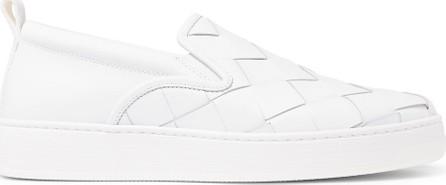 Bottega Veneta Dodger Intrecciato Leather Slip-On Sneakers