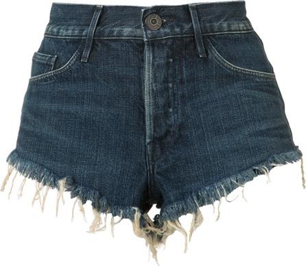 3X1 cut off denim shorts