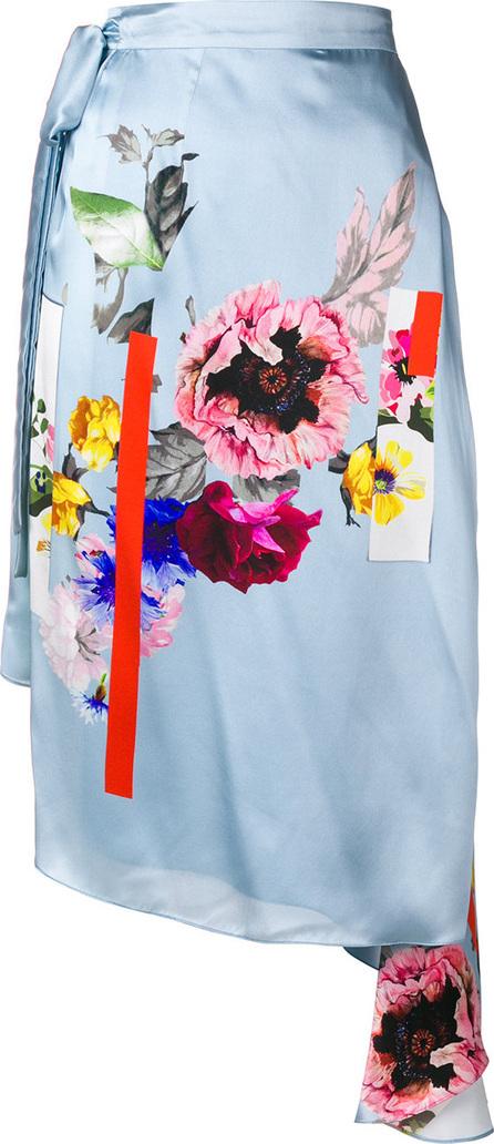 Preen Nadine sketchbook floral skirt
