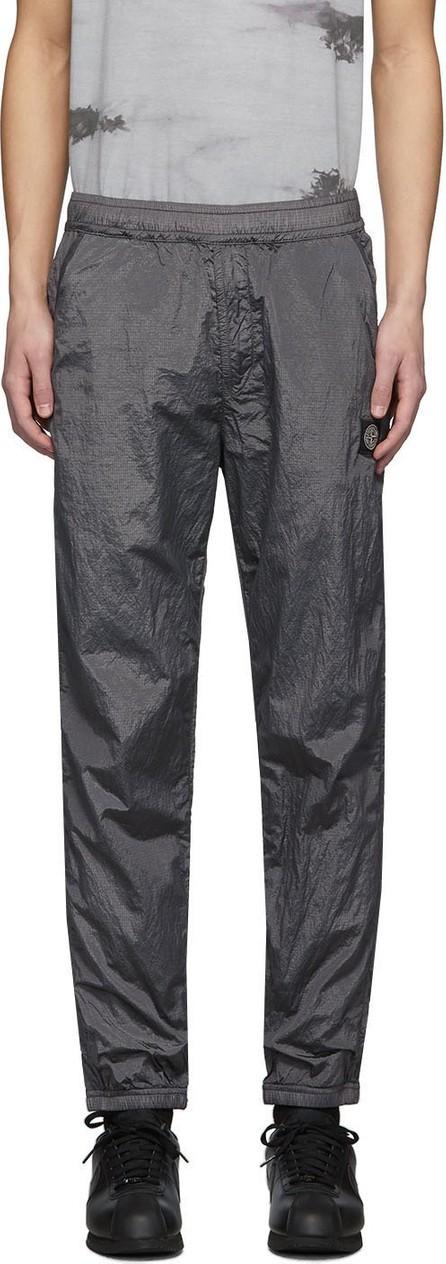 Stone Island Grey Nylon Track Pants
