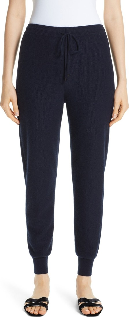 St. John Float Jacquard Knit Cashmere Pants