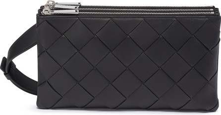 Bottega Veneta Intreccio leather crossbody bag