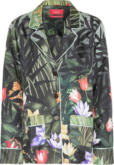 F.R.S For Restless Sleepers Ade printed silk shirt