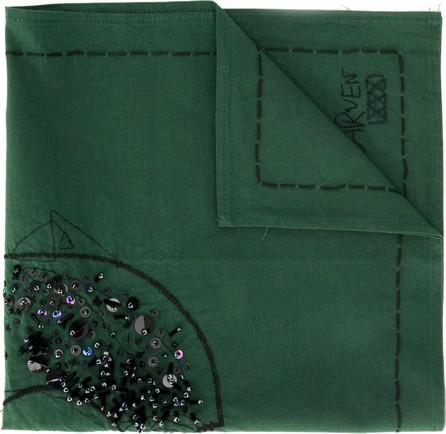Carven Sequin detail scarf