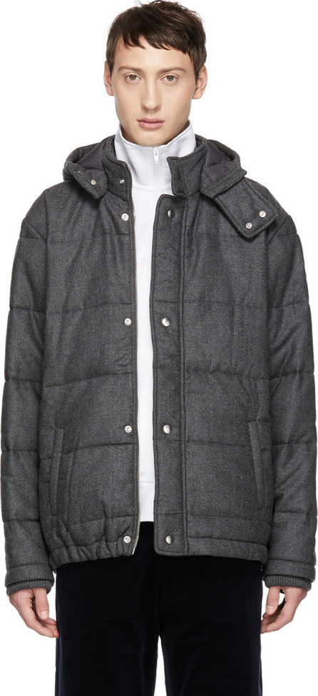 Band of Outsiders Grey Verbier Padded Jacket