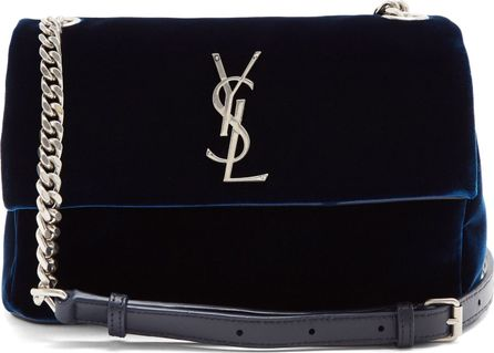 Saint Laurent West Hollywood small velvet shoulder bag