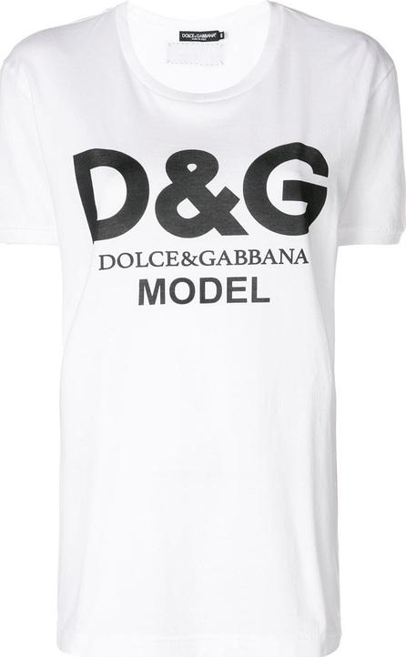 Dolce & Gabbana Model logo T-shirt