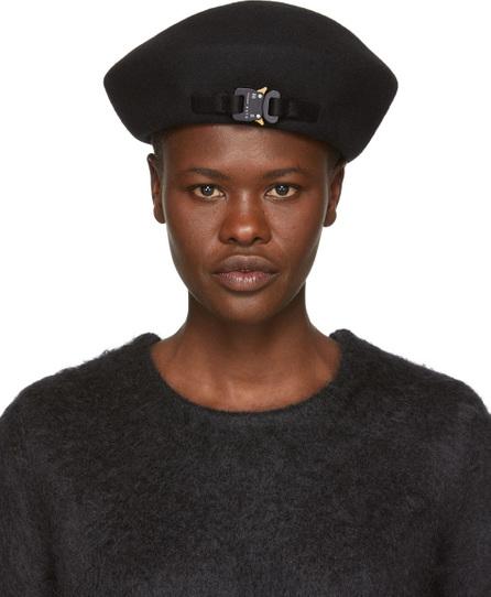 Alyx Black Bardot Beret