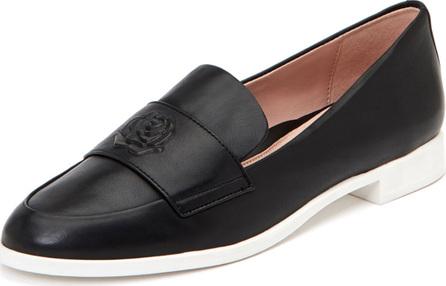 Taryn Rose Blossom Metallic Slip-On Loafers