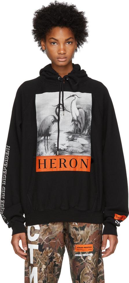 Heron Preston Black Herons Hoodie