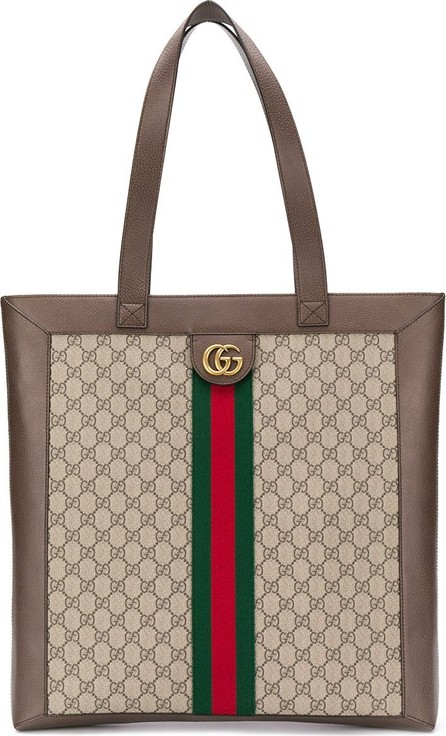 Gucci Large Ophidia soft GG Supreme tote