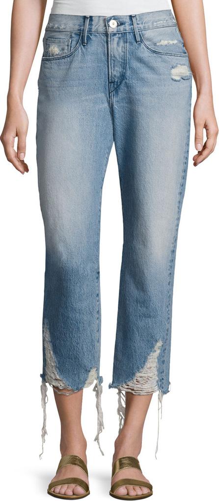 3X1 W3 Cropped Boyfriend Jeans, Higher Ground