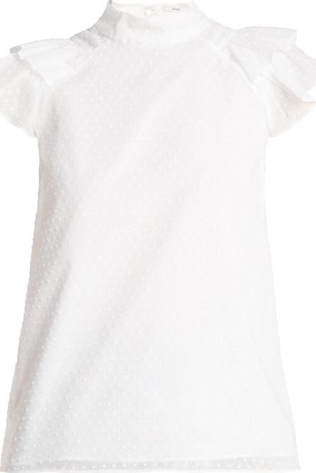Erdem Opal cotton voile blouse