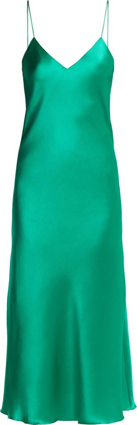 Adriana Iglesias Jadi silk-blend slip dress