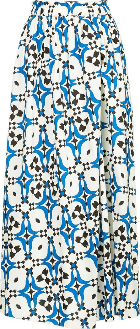 Astraet Printed full midi skirt