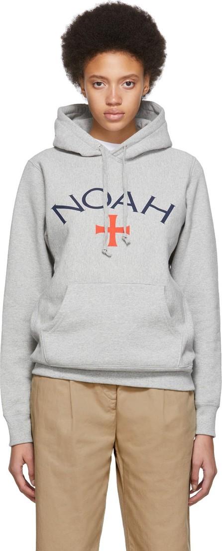 Noah NYC Grey Logo Hoodie