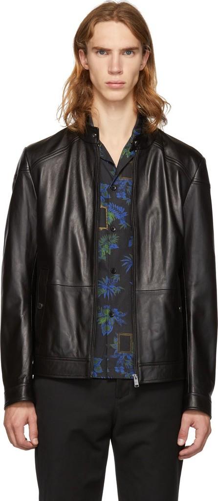 BOSS Hugo Boss Black Leather Nocan Jacket