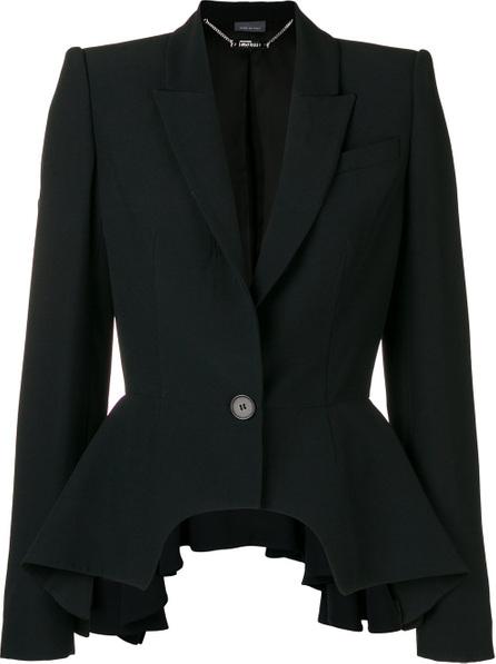 Alexander McQueen Peplum detail blazer