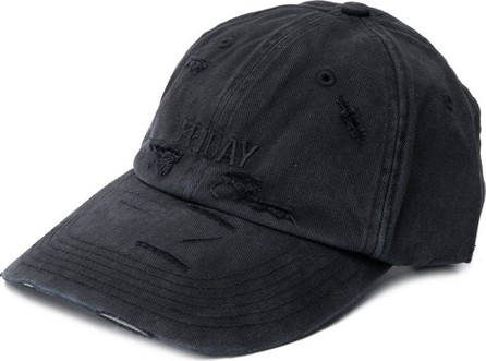 Vetements Vetements x Reebok Friday distressed cap