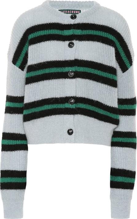 Alexachung Striped wool-blend cardigan