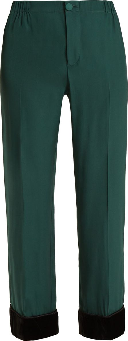 F.R.S For Restless Sleepers Etere 4° straight-leg silk-crepe pyjama trousers