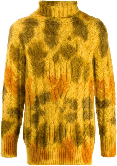 Moncler Tie-dye turtleneck jumper