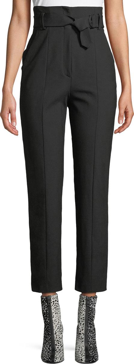 Rag & Bone Wallace High-Rise Belted Straight-Leg Pants