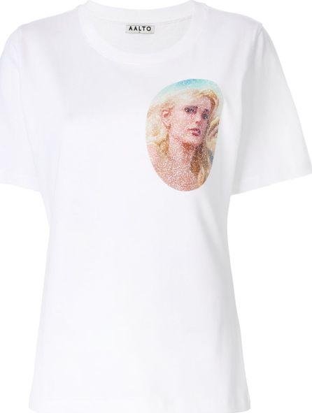 Aalto glitter print T-shirt