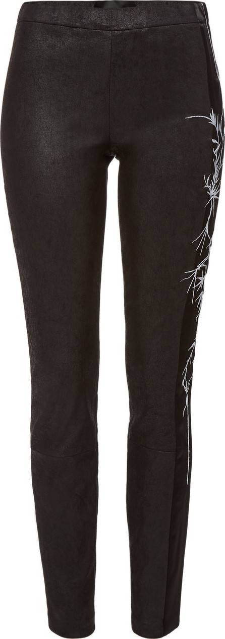 Haider Ackermann Embroidered Leather Leggings